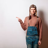 Hippie-Mann Stockfotos