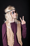 Hippie Mann Lizenzfreie Stockfotografie