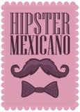 Hippie Mexicano - texte espagnol de hippie mexicain -  Images libres de droits