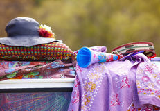Hippie objects Stock Photo
