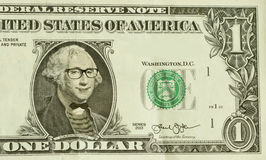 Hippie-Sonderling George Washington Stockfotos