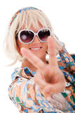 Hippie style Royalty Free Stock Image