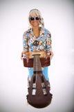 Hippie style Stock Photo