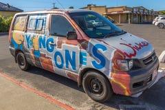 Hippie Van Young Ones Imagem de Stock Royalty Free