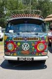 Hippie Volkswagen Kombi Stock Afbeeldingen