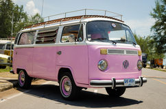 Hippie Volkswagen Kombi Royalty Free Stock Photos