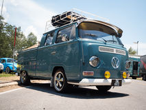 Hippie Volkswagen Kombi Royalty Free Stock Images