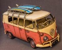 Hippiemikrobus Lizenzfreie Stockbilder