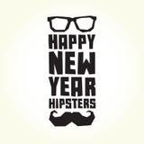 Hippies de bonne année Photo libre de droits