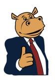 Hippo σε ένα κοστούμι 5 Στοκ φωτογραφίες με δικαίωμα ελεύθερης χρήσης