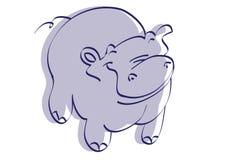 hippo Imágenes de archivo libres de regalías