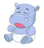 hippo stock afbeelding