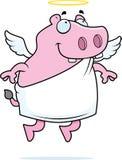 Hippo Angel Royalty Free Stock Image