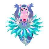 Hippo Ballerina Royalty Free Stock Photography