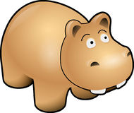 Hippo, Brown, Mammal, Danger Stock Photography