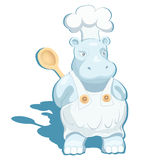 Hippo Chef Stock Photography