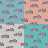 HIPPO four tone Stock Photography