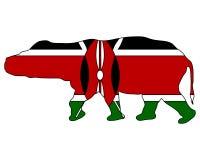 Hippo Kenya Royalty Free Stock Photography