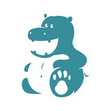 Hippo. Logo designs for your bussines Stock Photography