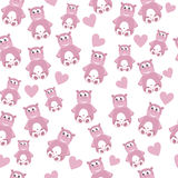 Hippo seamless pattern Royalty Free Stock Images