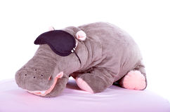 The hippo toy Stock Photography