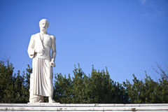 Hippocrates Statue. At Larisa Greece Royalty Free Stock Images