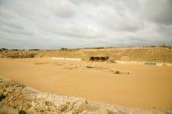 Hippodrom von Caesarea Lizenzfreie Stockfotos