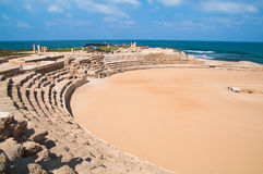 Hippodrome in Caesarea Israel Royalty Free Stock Photo