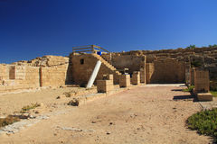 Hippodrome in Caesarea Maritima National Park Royalty Free Stock Photo