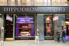 Hippodrome casino Stock Photo