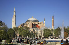 Hippodrome of Constantinople (Sultanahmet square) in Istanbul. Turkey Royalty Free Stock Images