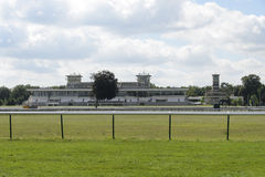 Hippodrome de Chantilly. Chantilly is the string of European training centers with nearly 3,000 horses daily attendance. 45% of participants taking part in races Stock Photo