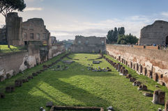 Hippodrome of Domitian Stock Images