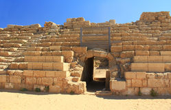 Hippodrome Entrance in Caesarea Maritima National Park Stock Photo