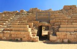 Hippodrome Entrance in Caesarea Maritima National Park Stock Photo