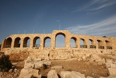 Hippodrome in Jerash Royalty Free Stock Photos