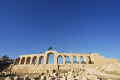 Hippodrome in Jerash Stock Images