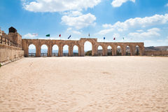 Hippodrome in Jerash Royalty Free Stock Images