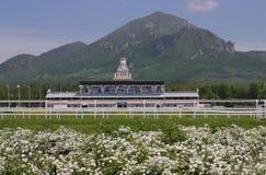 Hippodrome in Pyatigorsk. Royalty Free Stock Images