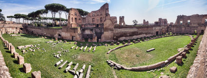 Hippodrome Stadium of Domitian, Royalty Free Stock Photos