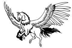 Hippogriff Photo stock