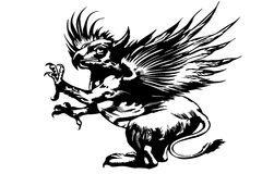 Hippogriff Royalty Free Stock Images