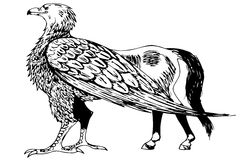 Hippogriff Royalty Free Stock Photography