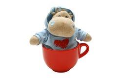 Hippopotame dans le capot Image libre de droits