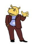 Hippopotame dans un costume 14 Photo stock