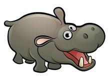 Hippopotame Safari Animals Cartoon Character Photographie stock libre de droits