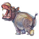 Hippopotamus illustrazione di stock