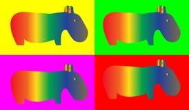 Hippopotamus Fotos de Stock