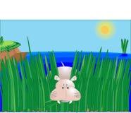 Hippopotamus ilustración del vector