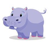 Hippopotamus so cute Royalty Free Stock Image
